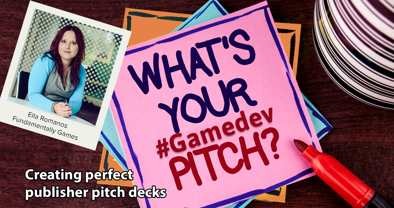 WEBINAR: Perfect Publisher Pitch Deck (for #Gamedevs)